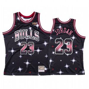 Chicago Bulls Michael Jordan  Black Jersey